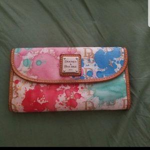 Dooney and Bourke Paint Splatter Wallet